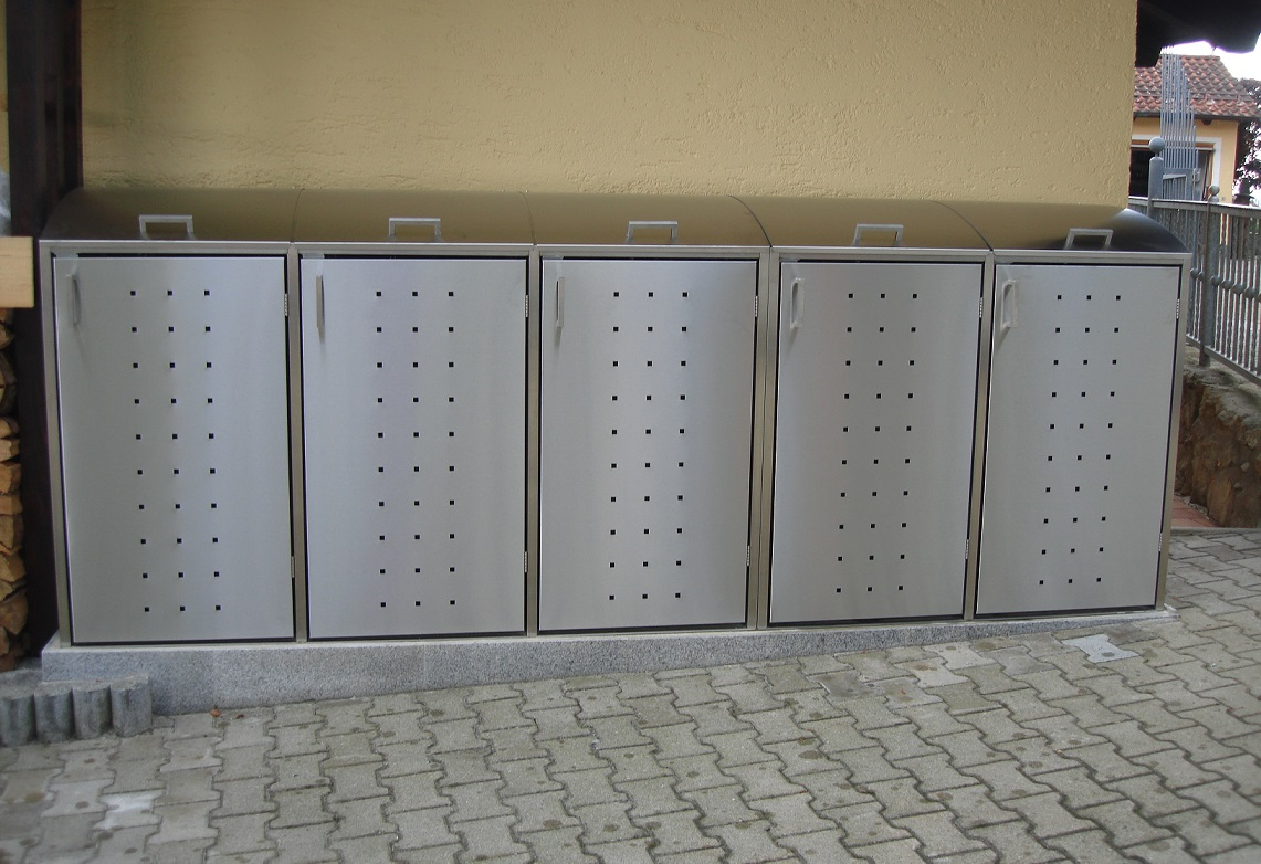 m lltonnenbox alice inox 5 240 l. Black Bedroom Furniture Sets. Home Design Ideas